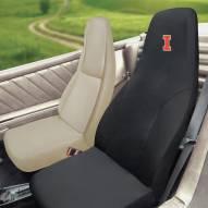 Illinois Fighting Illini Embroidered Car Seat Cover
