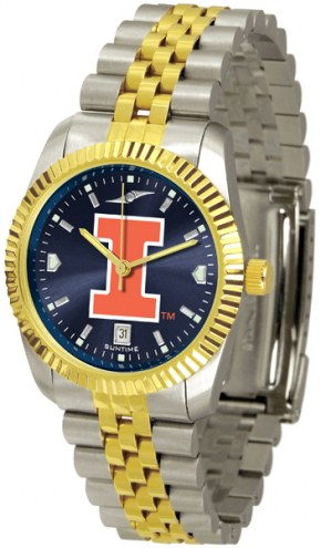Illinois Fighting Illini Executive AnoChrome Men's Watch
