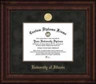 Illinois Fighting Illini Executive Diploma Frame