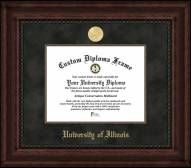 Illinois Fighting Illini Executive Diploma Frame
