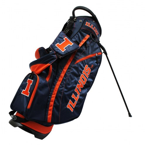 Illinois Fighting Illini Fairway Golf Carry Bag