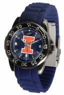 Illinois Fighting Illini Fantom Sport Silicone Men's Watch