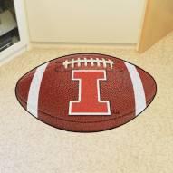 Illinois Fighting Illini Football Floor Mat
