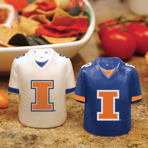Illinois Fighting Illini Gameday Salt and Pepper Shakers