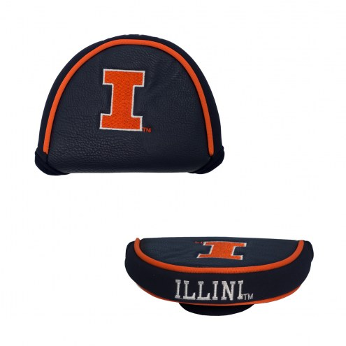 Illinois Fighting Illini Golf Mallet Putter Cover