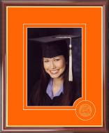 Illinois Fighting Illini Graduate Portrait Frame