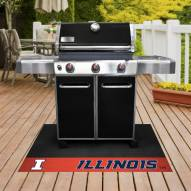 Illinois Fighting Illini Grill Mat