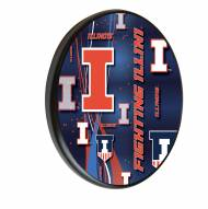 Illinois Fighting Illini Digitally Printed Wood Sign