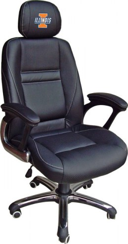 Illinois Fighting Illini Head Coach Office Chair