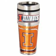 Illinois Fighting Illini Hi-Def Travel Tumbler