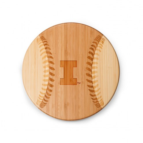 Illinois Fighting Illini Homerun Cutting Board