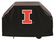Illinois Fighting Illini Logo Grill Cover