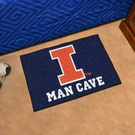 Illinois Fighting Illini Man Cave Starter Mat