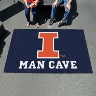 Illinois Fighting Illini Man Cave Ulti-Mat Rug