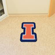Illinois Fighting Illini Mascot Mat