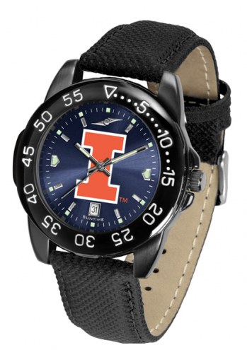 Illinois Fighting Illini Men's Fantom Bandit AnoChrome Watch