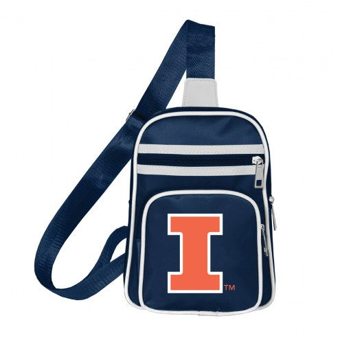 Illinois Fighting Illini Mini Cross Sling Bag