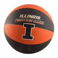 Illinois Fighting Illini Mini Rubber Basketball
