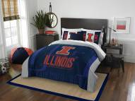 Illinois Fighting Illini Modern Take Full/Queen Comforter Set