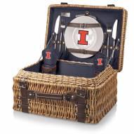 Illinois Fighting Illini Navy Champion Picnic Basket
