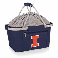 Illinois Fighting Illini Navy Metro Picnic Basket