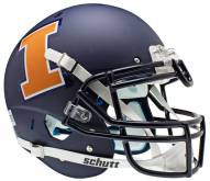 Illinois Fighting Illini Navy Schutt XP Authentic Full Size Football Helmet