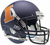 Illinois Fighting Illini Navy Schutt XP Collectible Full Size Football Helmet