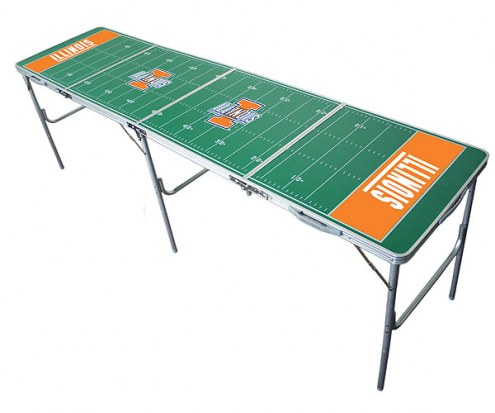 Illinois Fighting Illini College Tailgate Table