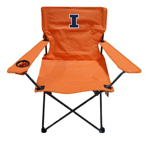 Illinois Fighting Illini Rivalry Folding Chair