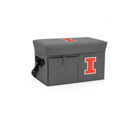 Illinois Fighting Illini Ottoman Cooler & Seat
