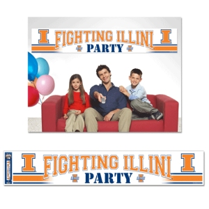Illinois Fighting Illini Party Banner