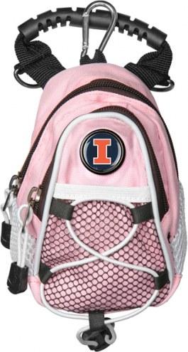 Illinois Fighting Illini Pink Mini Day Pack