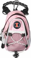 Illinois Fighting Illini Pink Mini Day Pack