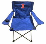 Illinois Fighting Illini Rivalry Folding Chair