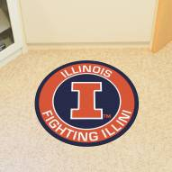 Illinois Fighting Illini Rounded Mat