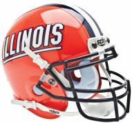 Illinois Fighting Illini Schutt Mini Football Helmet