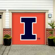 Illinois Fighting Illini Single Garage Door Banner