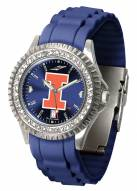 Illinois Fighting Illini Sparkle Women's Watch