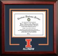 Illinois Fighting Illini Spirit Diploma Frame
