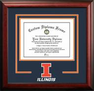 Illinois Fighting Illini Spirit Diploma Frame
