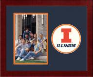 Illinois Fighting Illini Spirit Vertical Photo Frame