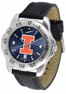 Illinois Fighting Illini Sport AnoChrome Men's Watch