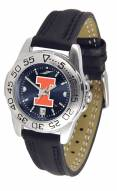 Illinois Fighting Illini Sport AnoChrome Women's Watch