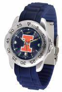 Illinois Fighting Illini Sport Silicone Men's Watch