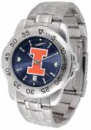 Illinois Fighting Illini Sport Steel AnoChrome Men's Watch