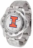 Illinois Fighting Illini Sport Steel Men's Watch