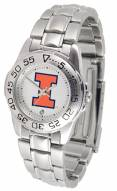 Illinois Fighting Illini Sport Steel Women's Watch