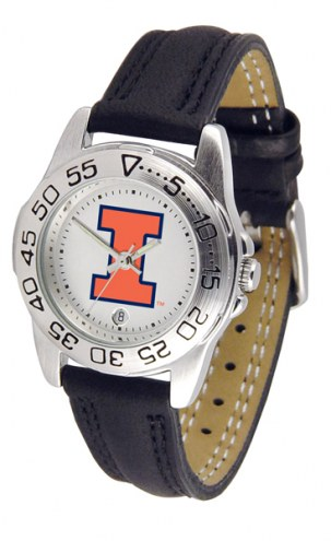 Illinois Fighting Illini Sport Women's Watch
