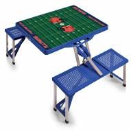 Illinois Fighting Illini Sports Folding Picnic Table
