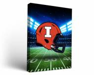 Illinois Fighting Illini Stadium Canvas Wall Art